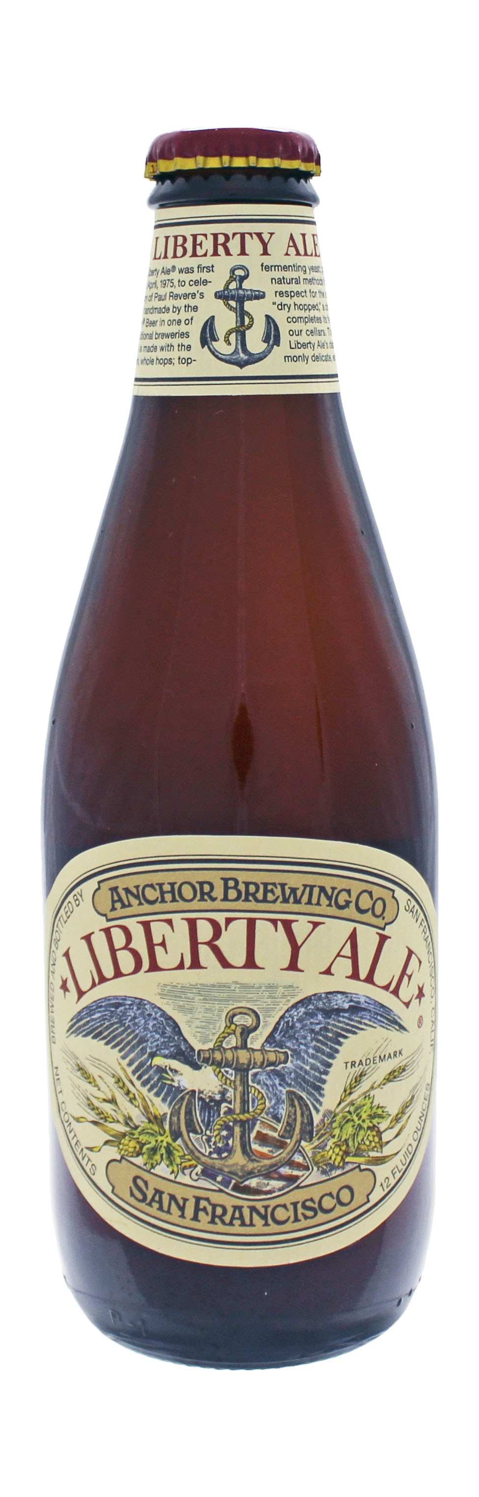 Photo de face de Anchor Liberty Ale
