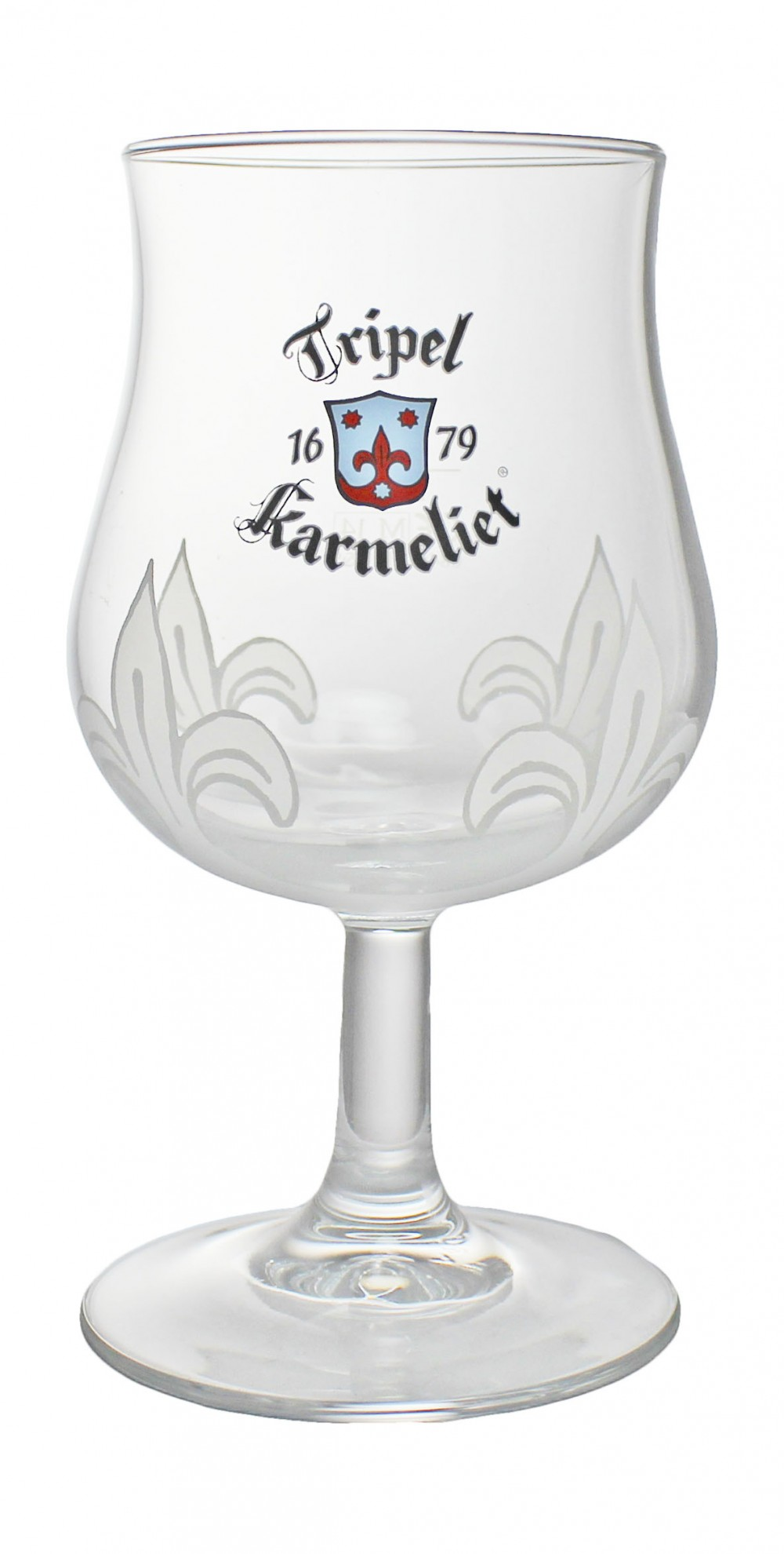 Photo de face du verre Karmeliet Tripel