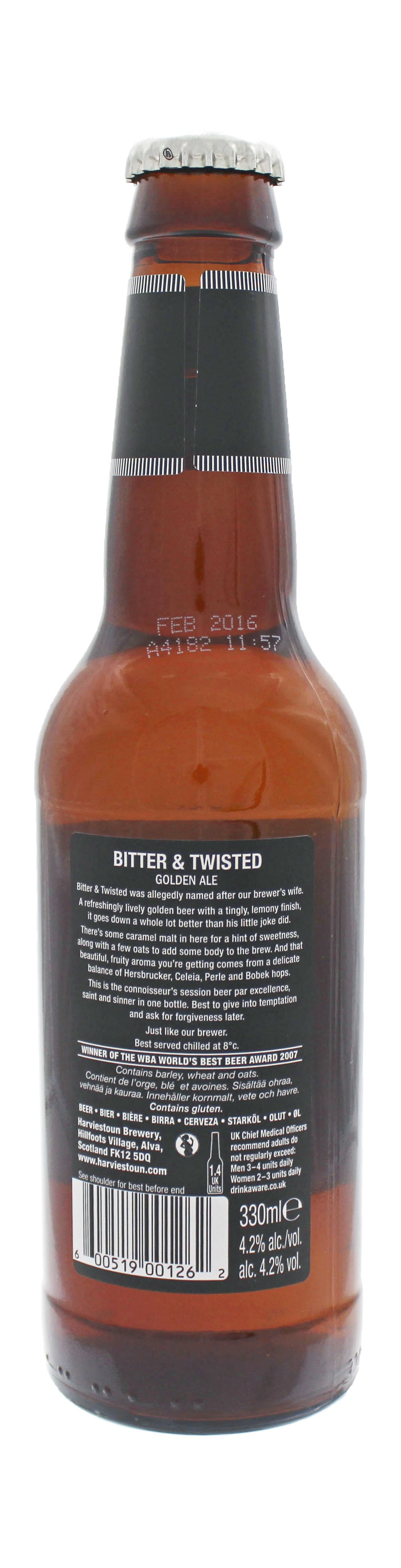 Photo de face de Bitter & Twisted