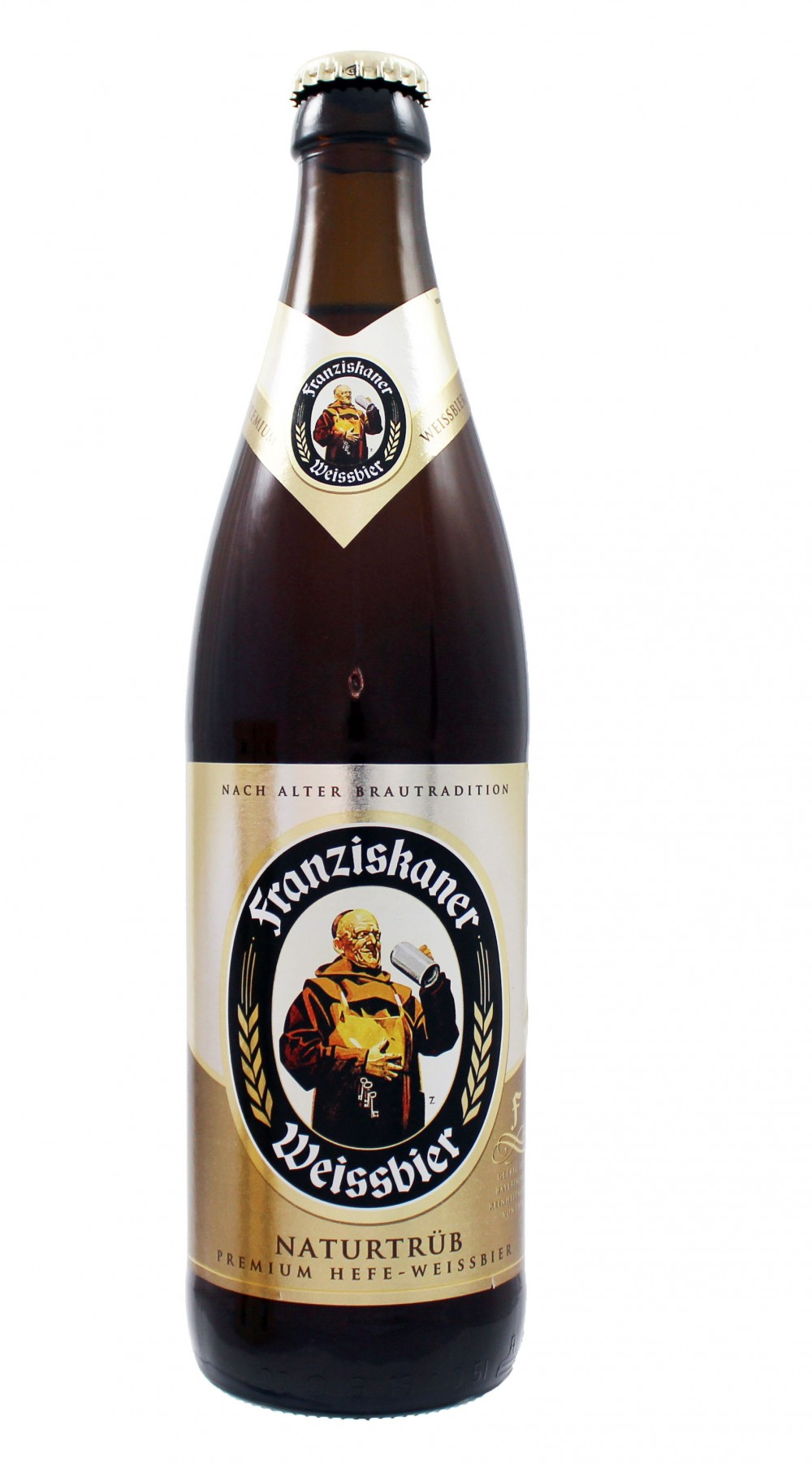 Photo de face de Hefe Weissbier Naturtrüb