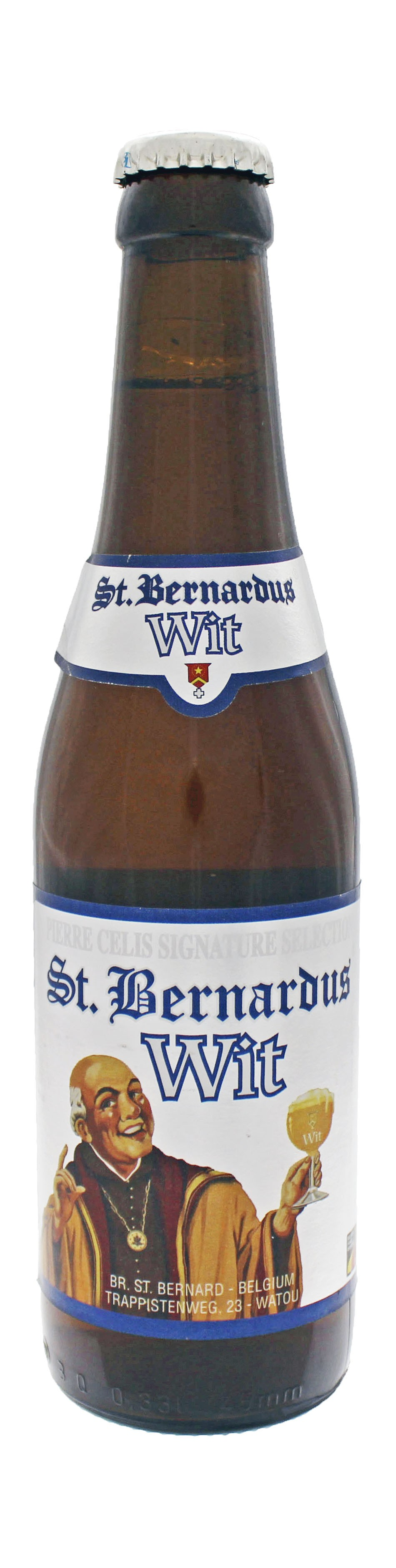 Photo de face de St Bernardus Wit