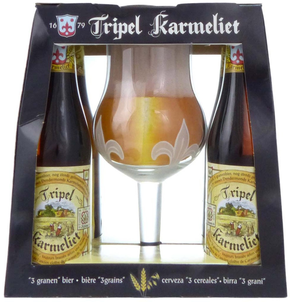 Coffret Tripel Karmeliet par Bosteels