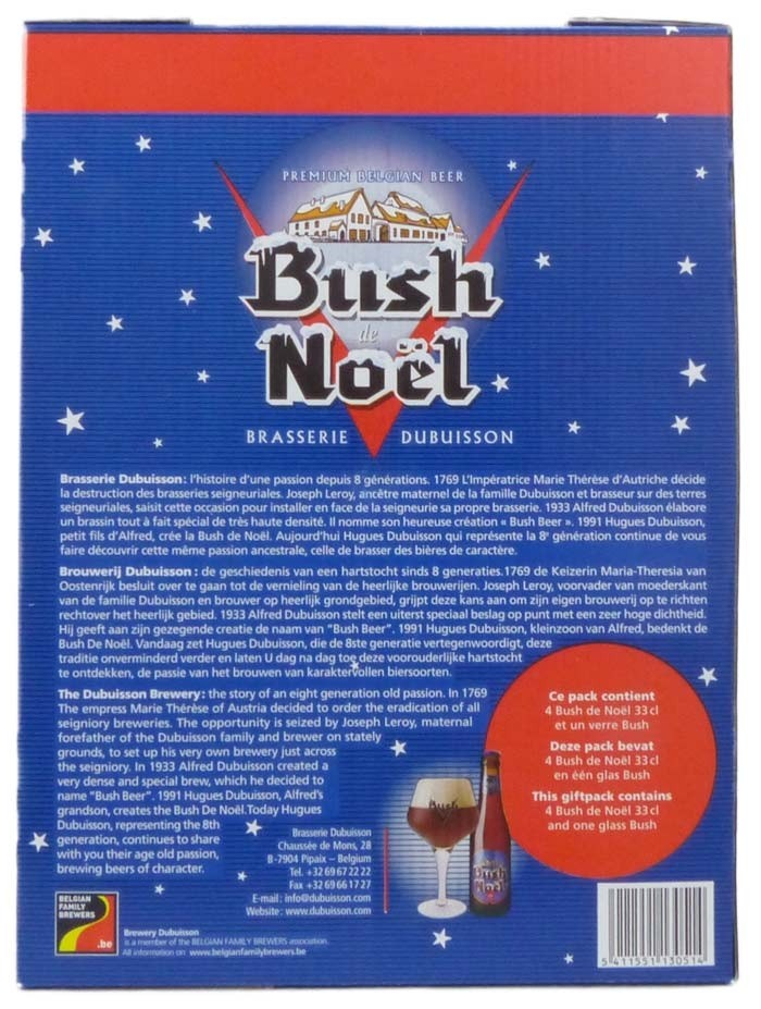 Coffret Bush de Noël de Dubuisson