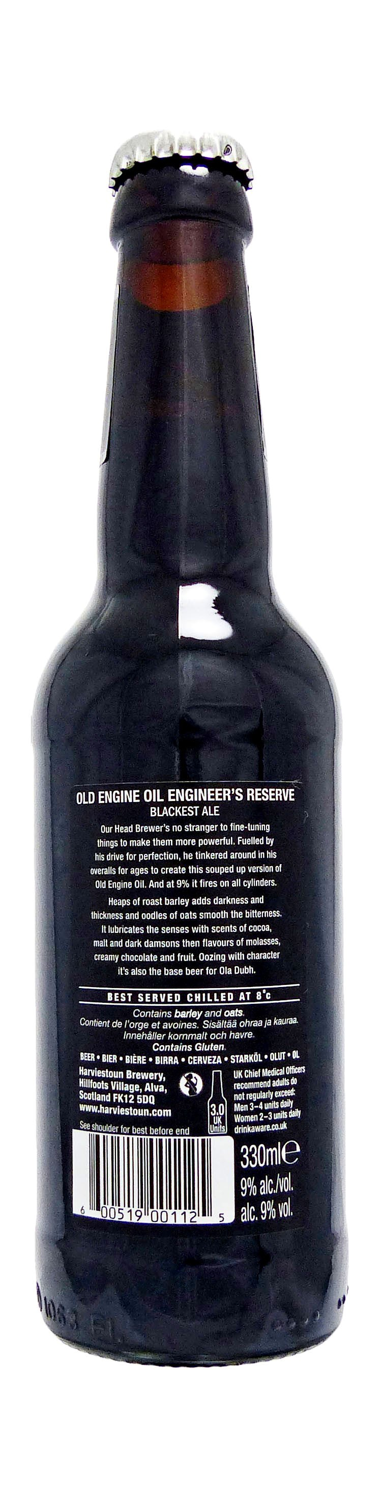 Old Engine Oil Engineer's Reserve face