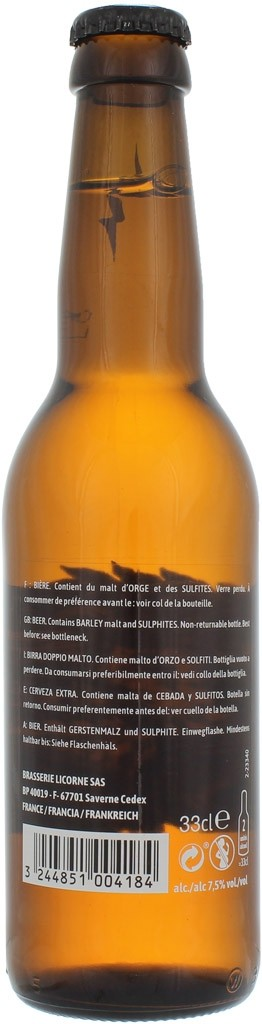 Bière Licorne Slash Origin