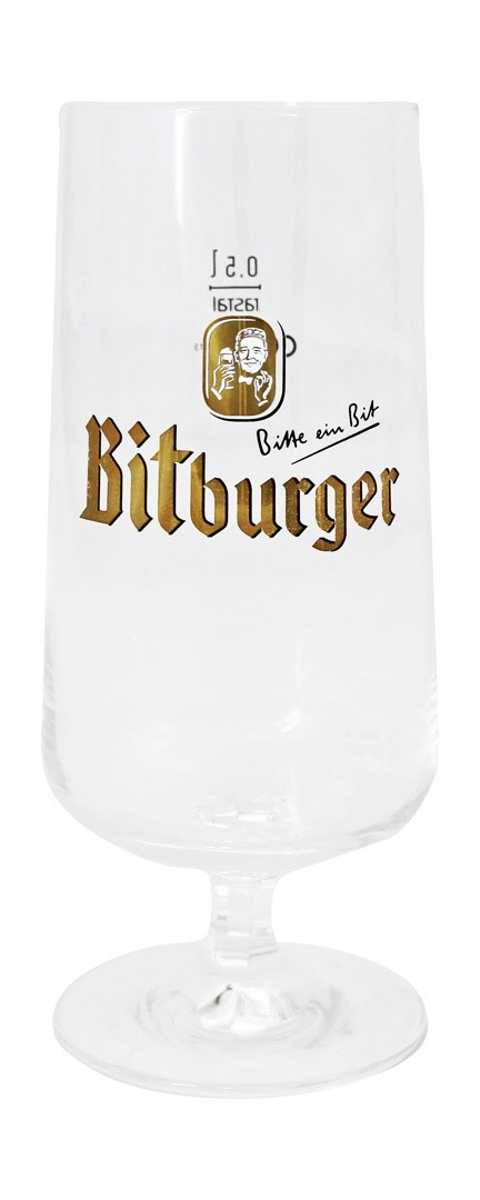 Verre original Bitburger