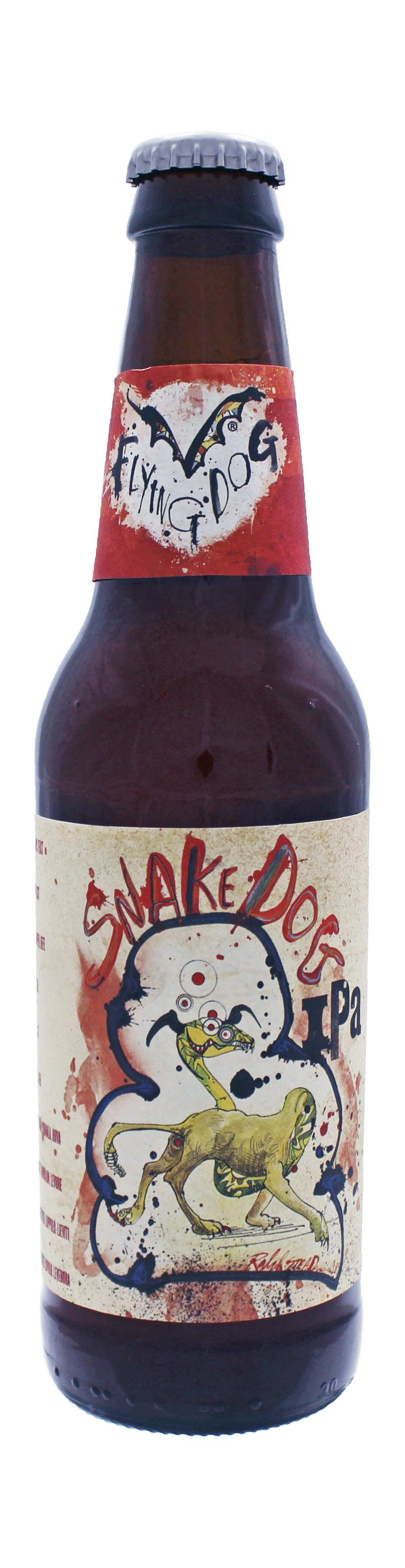 Photo de face de Snake Dog IPA
