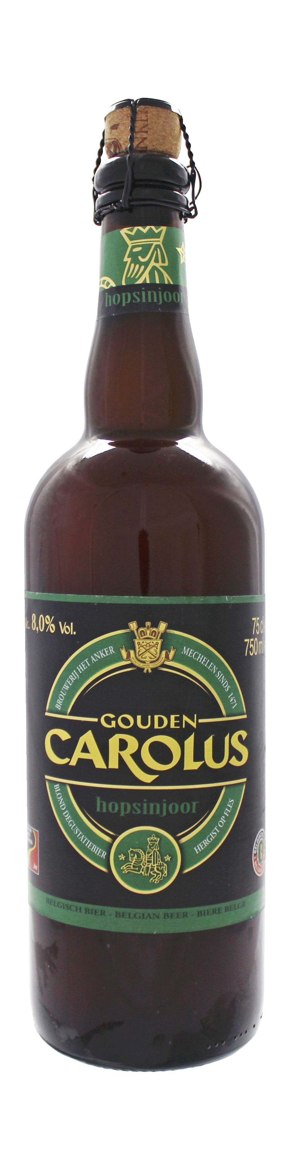 Photo de face de Gouden Carolus Hopsinjoor