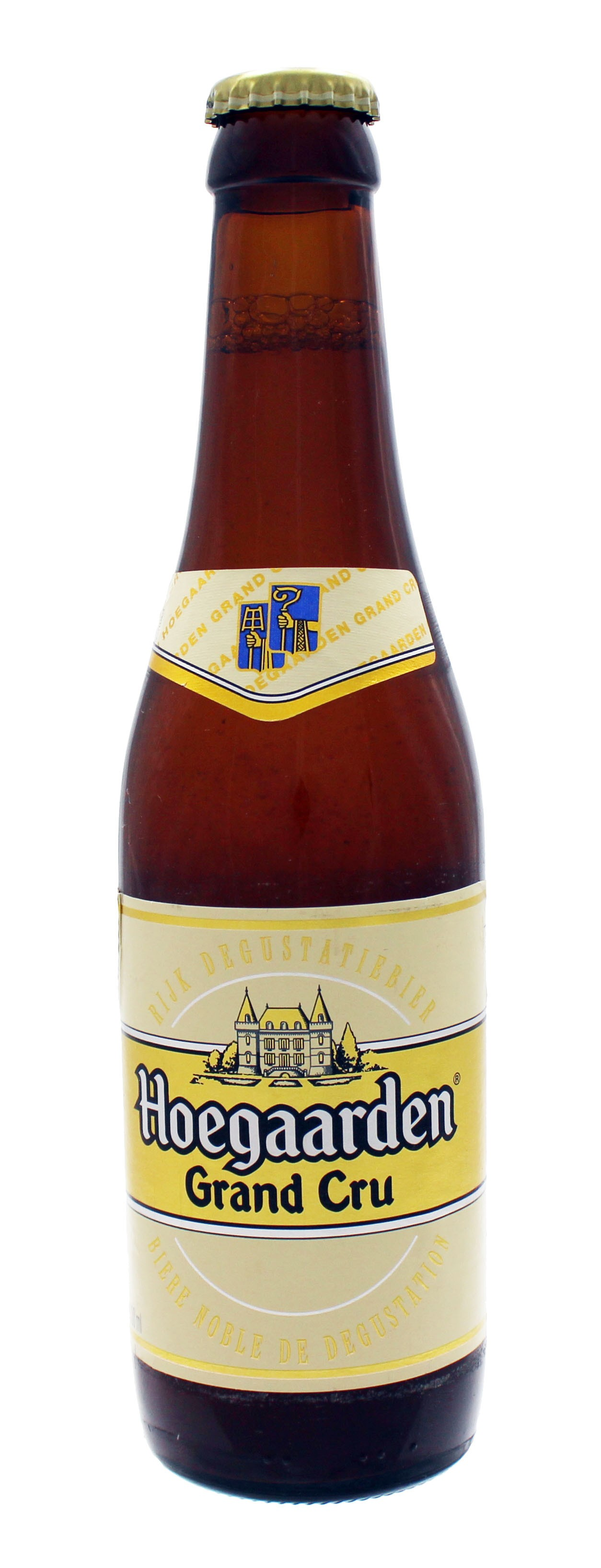 Photo de face de Hoegaarden Grand Cru