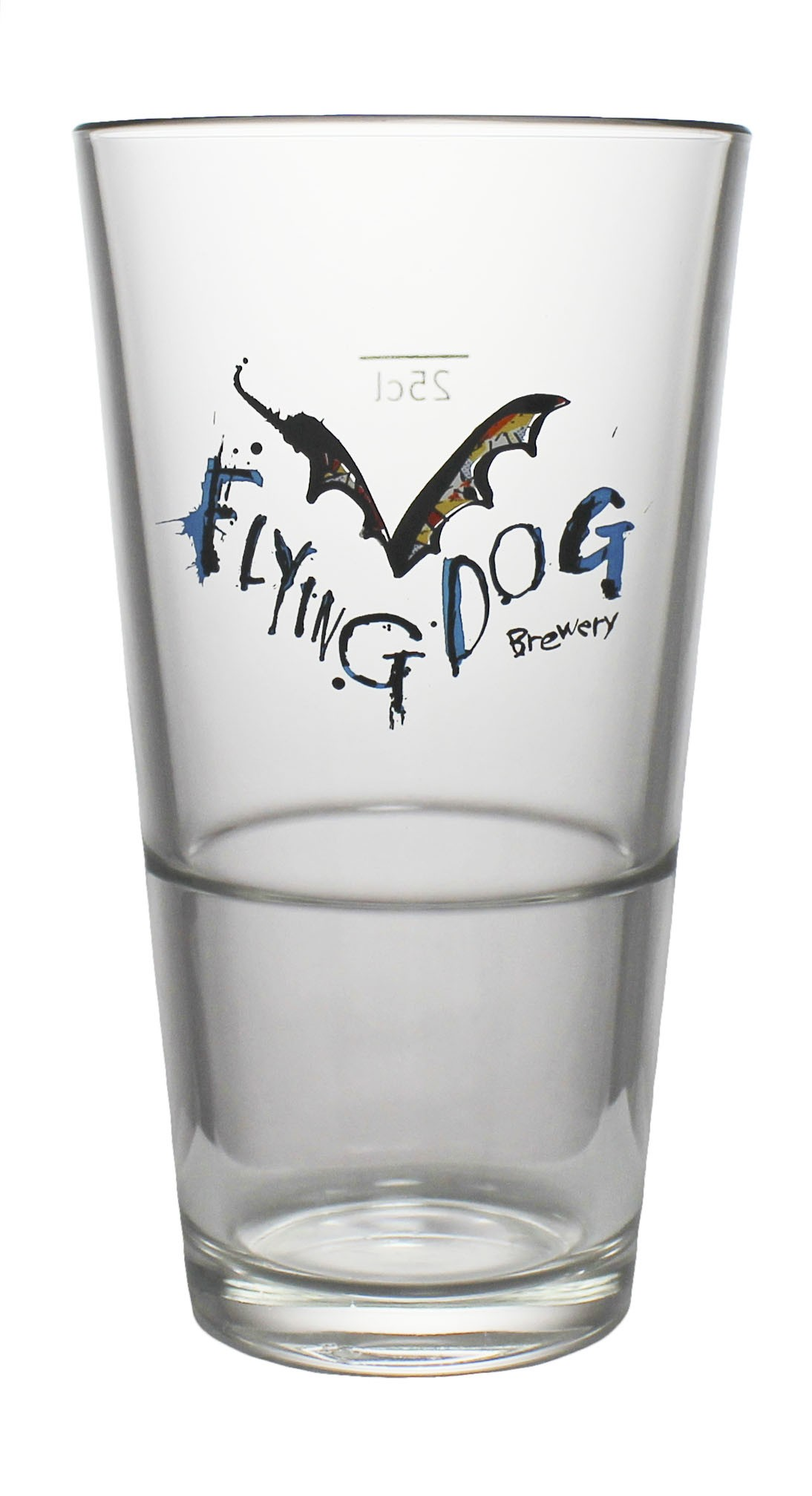 Photo de face de Flying Dog