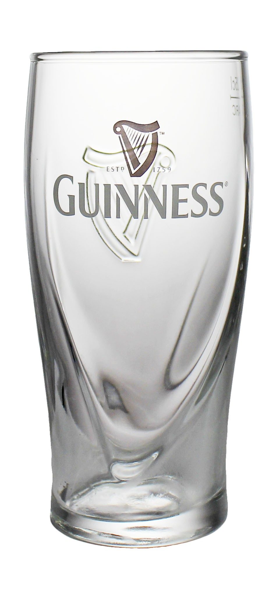 Photo de face de Guinness