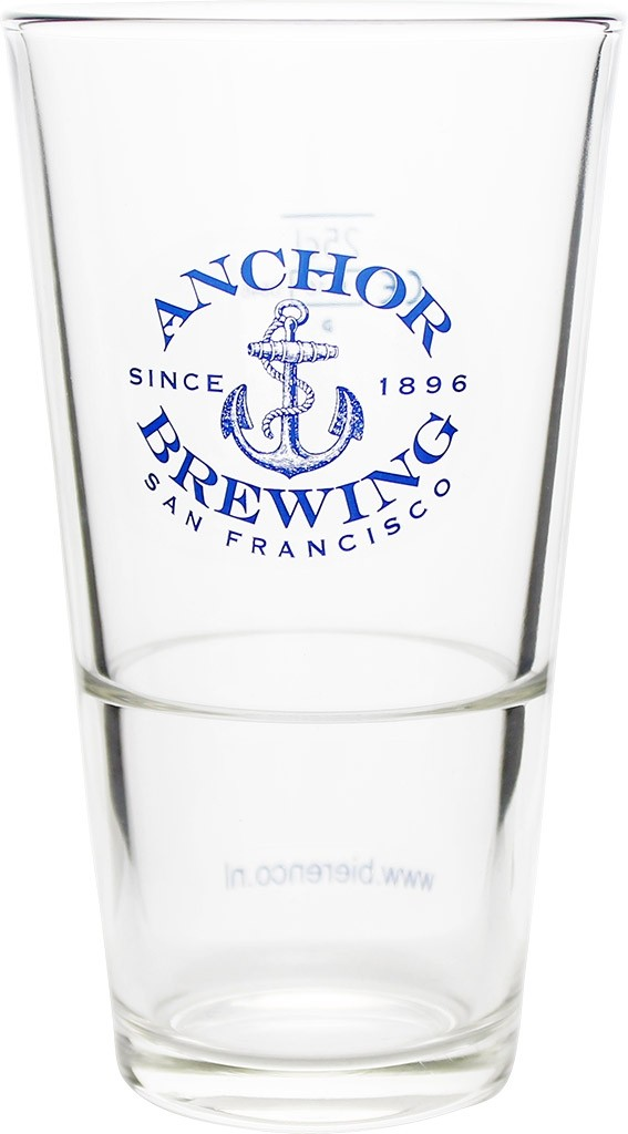 Verre droit Anchor brewing