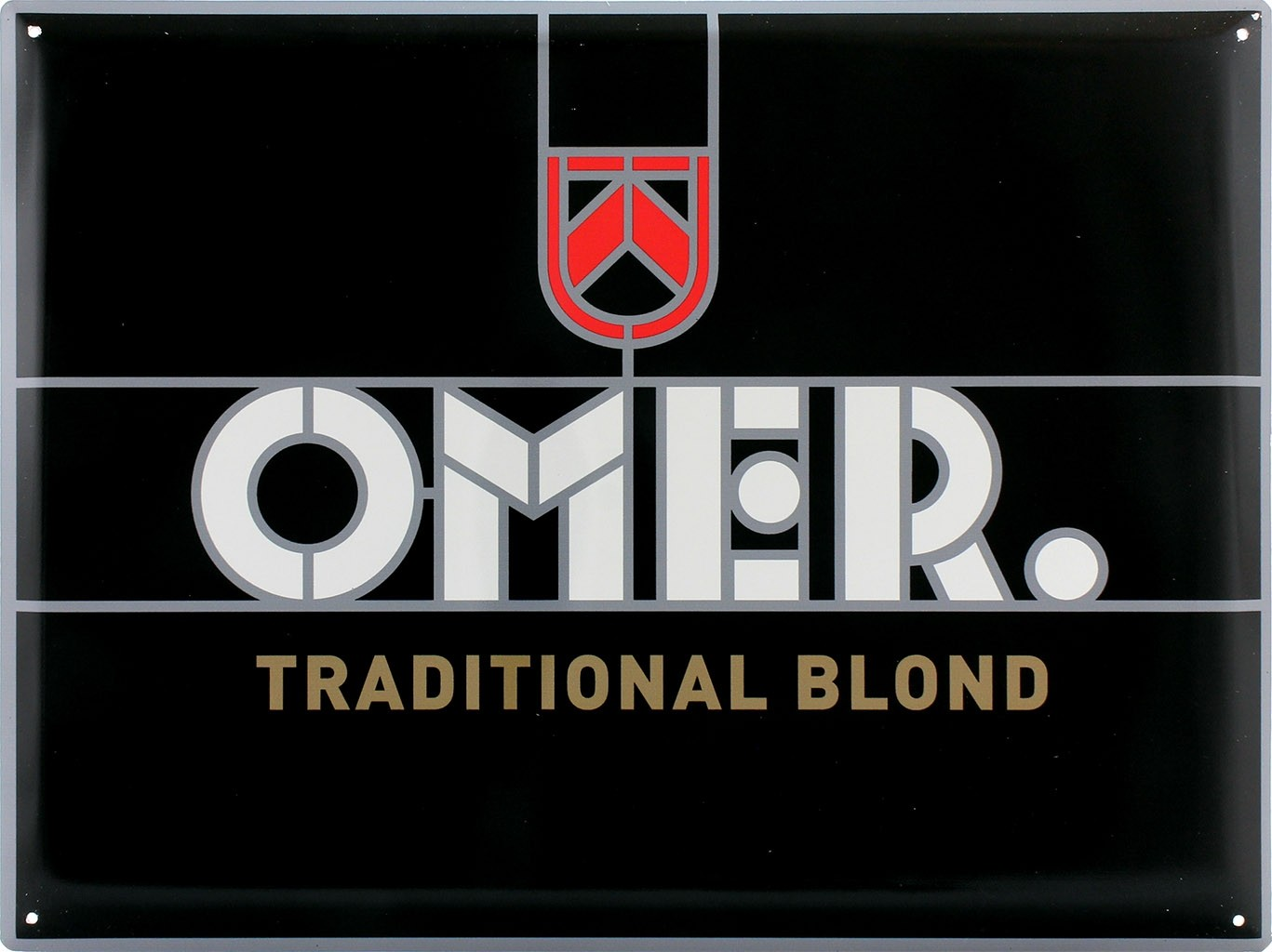 Plaque décorative Omer Traditionnal Blond