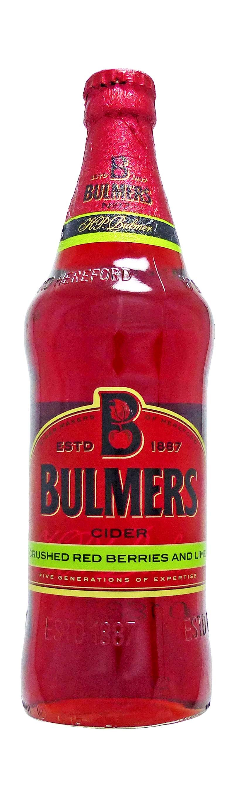 Bulmers Crushed Red Berries And Lime