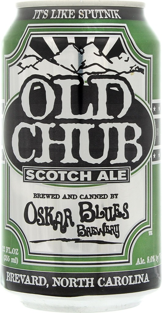 Bière Old Chub par Oskar Blues (USA)