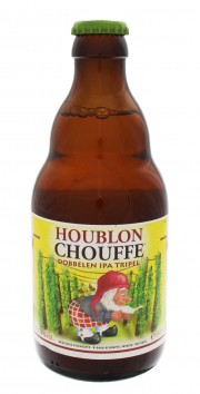 Photo de face de Houblon Chouffe