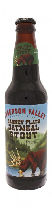 Photo de face de Barney Flats Oatmeal Stout