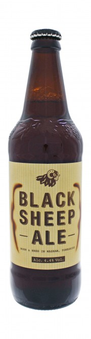 Photo de face de Black Sheep Ale