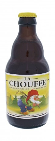 Photo de face de La Chouffe