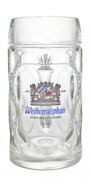 Photo de face de Weihenstephan - Chope