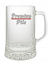 Photo de face de Premium Pils