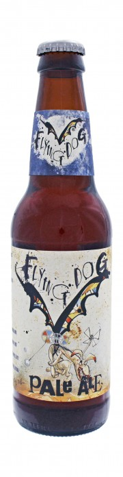Photo de face de Flying Dog Pale Ale