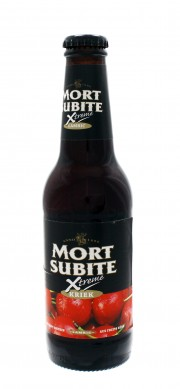Photo de face de Mort Subite Xtreme Kriek