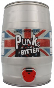 Fût de bière Punks Do It Bitter par Elav