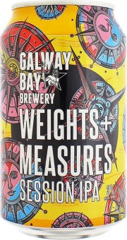 Canette de bière Weights + Measures par Galway Bay