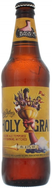 Bière Black Sheep Monty Python Holy Grail