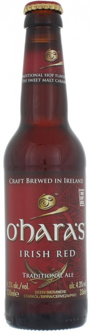 Bière O'Hara's Irish Red par Carlow