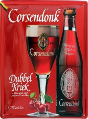 Plaque décorative Corsendonk Dubbel Kriek