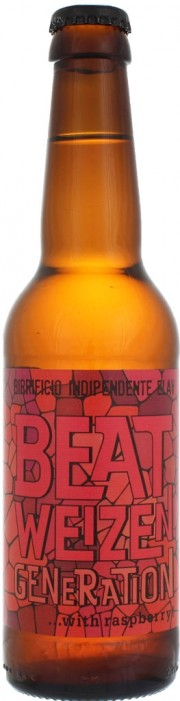 Bière Beat Weizen Generation With Raspberry par Elav