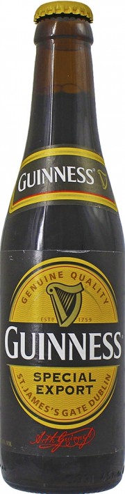 Bière Guinness Special Export