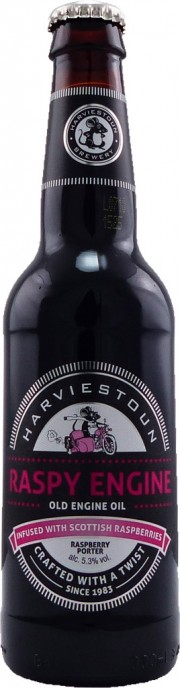 Bière Raspy Engine par Harviestoun