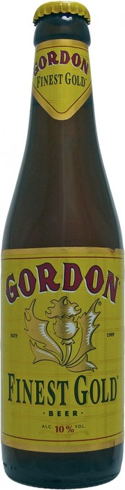 Photo de face de la Gordon Finest Gold