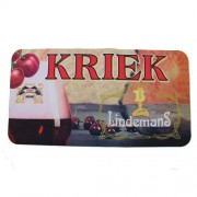 Tapis de bar Lindemans Kriek
