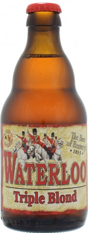 Bière Waterloo Triple Blond par John Martin's