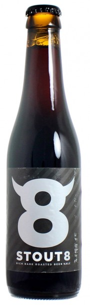 Bière hollandaise Stout 8 par Maximus