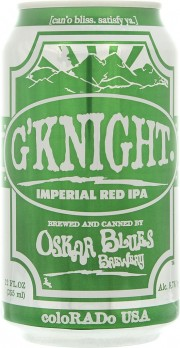 G'Knight Imperial Red IPA d'Oscar Blues