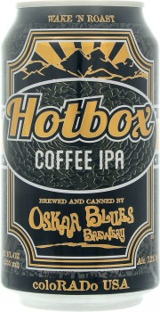 Bière Hotbox Coffee IPA par Oskar Blues