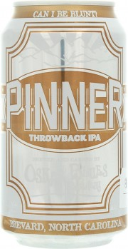 Bière Pinner Throwback IPA par Oskar Blues