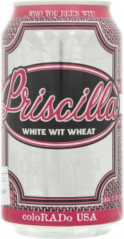 Bière Priscilla White Wit Wheat par Oskar Blues