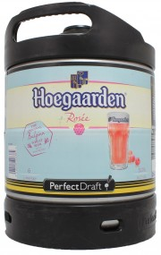 Fut Perfect Draft de Hoegaarden Rosée