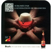 Sous-bocks Bush Ambrée de Dubuisson