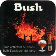 Sous-bocks Bush par Dubuisson
