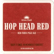 Sous-Bocks Hop Head Red par Green Flash