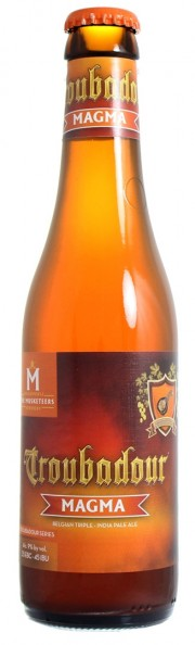 Bière Troubadour Magma par The Musketeers