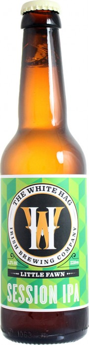 Photo de face de la White Hag Little Fawn Session IPA