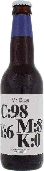 Bière Mr Blue par la brasserie To Ol